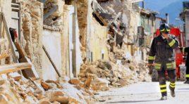 L'Aquila, crolla fabbricato in zona rossa: area posta in sicurezza