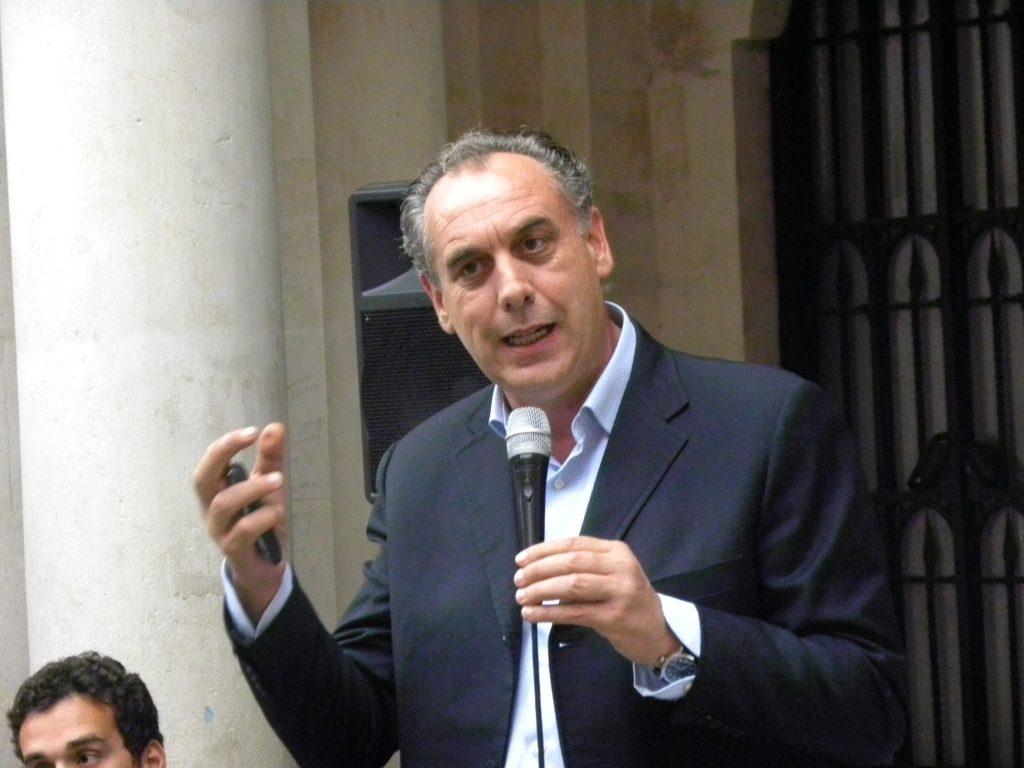 Regionali, Giovanni Legnini fa tappa a Sulmona