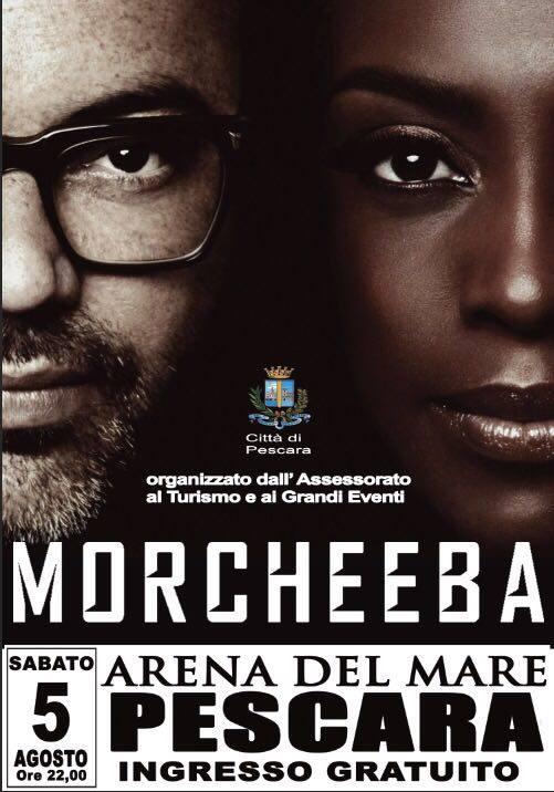 Concerto gratuito de I Morcheeba a Pescara