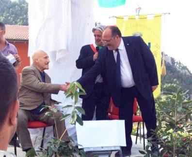 Foto1. Da sin Bruno Sammartino, il Sindaco Fagnilli e il Sottosegretario d'Abruzzo Mazzocca
