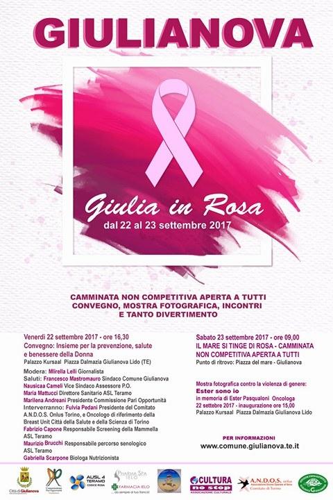 """""""Giulia in rosa"""", mostra fotografica in ricordo di Ester Pasqualoni"""