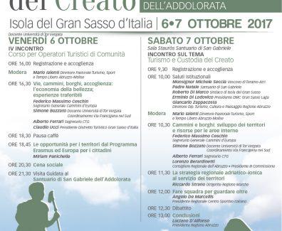 Locandina Incontro San Gabriele 6-7 Ott.