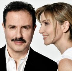 Lorella Cuccarini e Giampiero Ingrassia