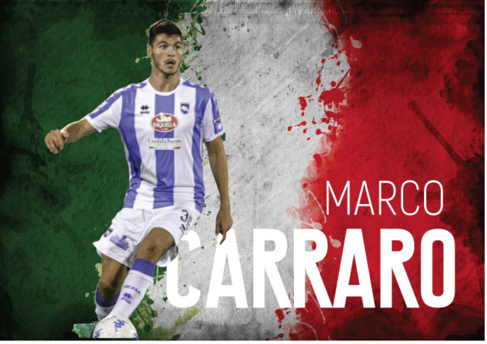 Marco Carraro altro biancazzurro in Nazionale Under 20