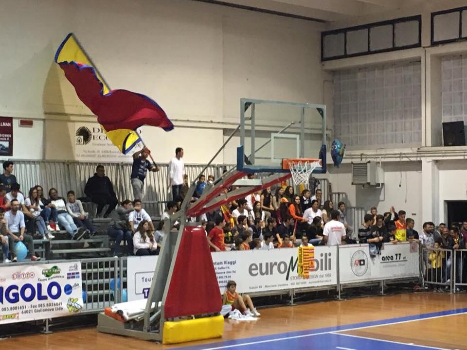 Il Giulianova basket vince il derby contro Teramo