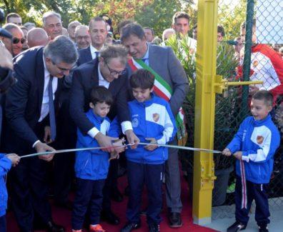 inaugurzione stadio Lettomanoppello