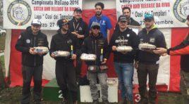Finale del Campionato italiano di pesca sportiva al lago di Corazzano