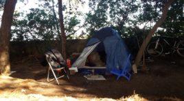 Montesilvano, sgombero immigrati dalla pineta di Santa Filomena