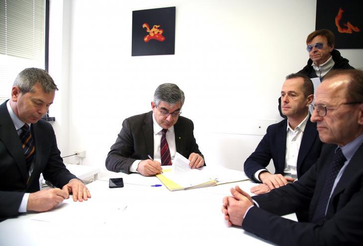 Masterplan, firmate le convezione per 7 interventi infrastrutturali e turismo