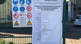 Scuola Colleranesco, al via i lavori di miglioramento sismico