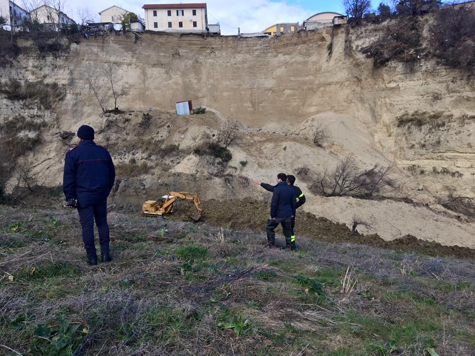Frana Castelnuovo, nuovo finanziamento di un milione dalla Regione