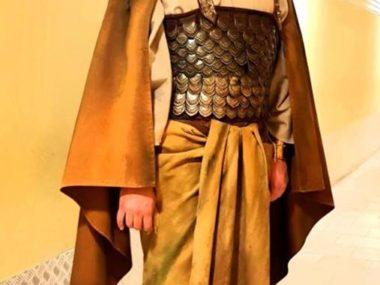 Riccardo Della Sciucca in costume di scena