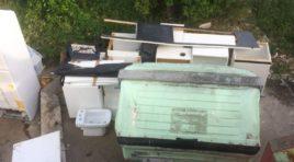Rifiuti ingombranti: Ancora abbandoni in molte vie della città