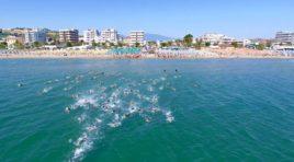 Alba Adriatica, al via il Triathlon olimpico: ciclismo, nuoto e corsa