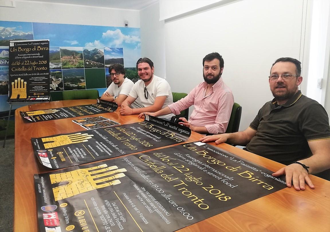 """A Civitella """"Un borgo di birra"""", oltre 100 birre artigianali e street food"""