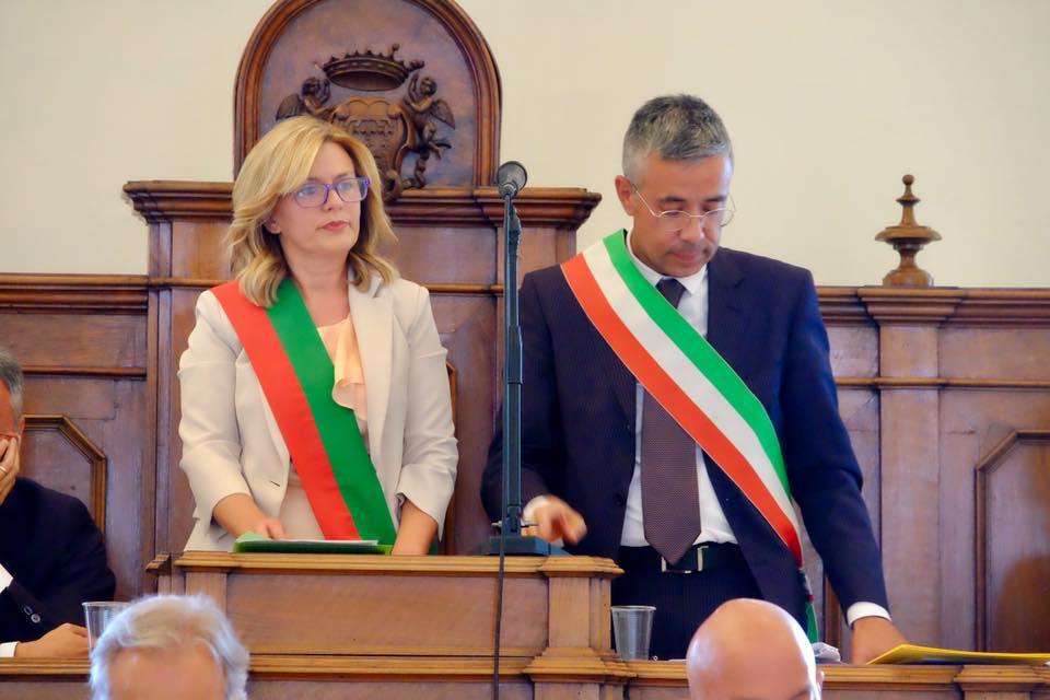 Atri, insediamento dell'amministrazione Ferretti:  Mimma Centorame è il presidente