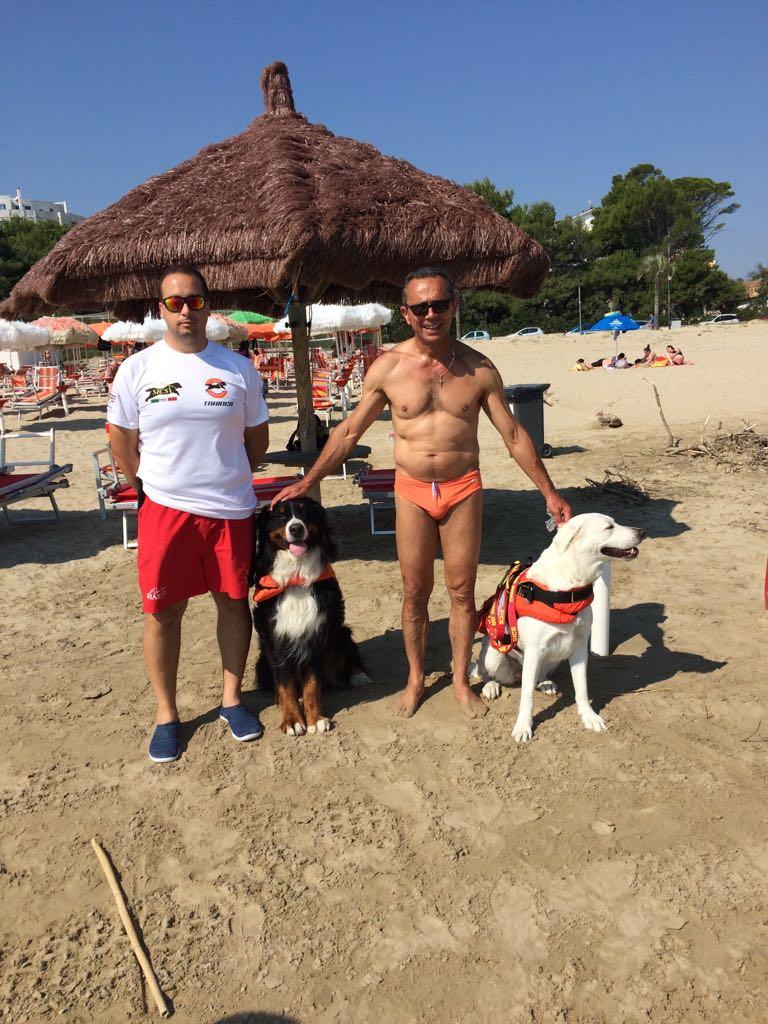 Mare sicuro con la Scuola Italiana Cani di Salvataggio