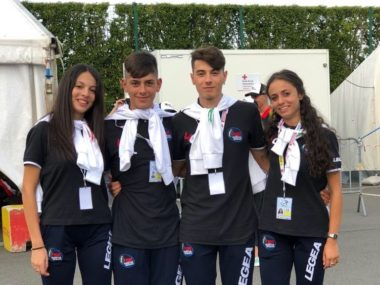 atleti Rolling Bosica agli Europei