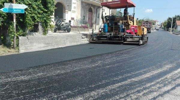 Partiti i lavori sul terzo nucleo stradale area Isola-Bisenti