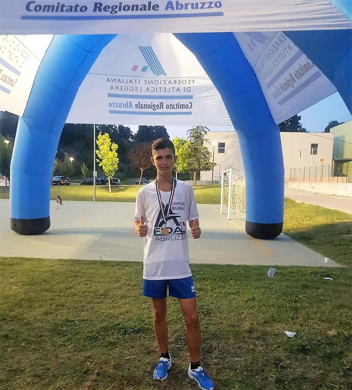 Trofeo Collina Dragonara, Marcheggiani è campione regionale di corsa