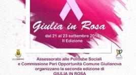 """Al via """"Giulia in Rosa"""",dedicata alla prevenzione dei tumori"""