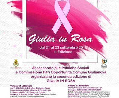 Giulia in Rosa 2018