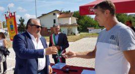 Ricostruzione post sisma, Mazzocca consegna le restanti 10 casette a Montorio al Vomano