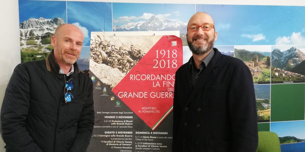 "A Montorio ""1918-2018: ricordando la fine della Grande Guerra"""