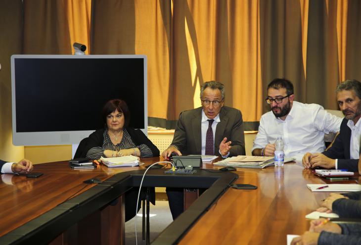 """Sisma L'Aquila,Lolli """"Forte mobilitazione per chiedere incontro con Governo"""""""
