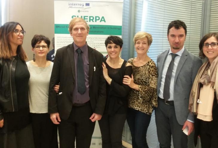 Progetto Sherpa, l'Abruzzo alla fiera delle tecnologie per l'edilizia e l'ambiente
