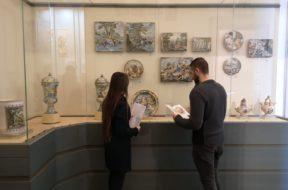 Giovani del Fai al museo Barbella di Chieti