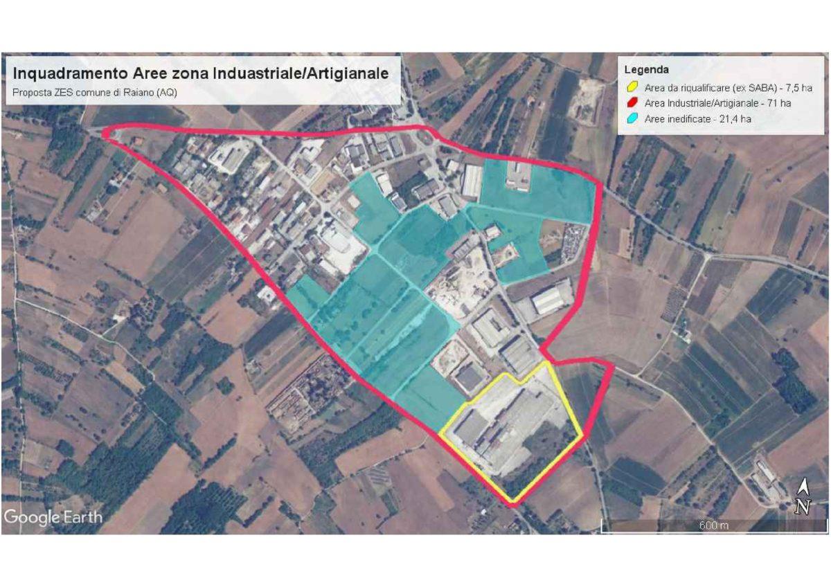 Raiano, presentata proposta di inserimento dell' area industriale nella perimetrazione della Zes