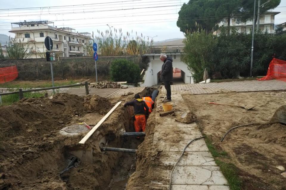 Pineto, interventi su tutto il territorio per la mitigazione del rischio idrogeologico