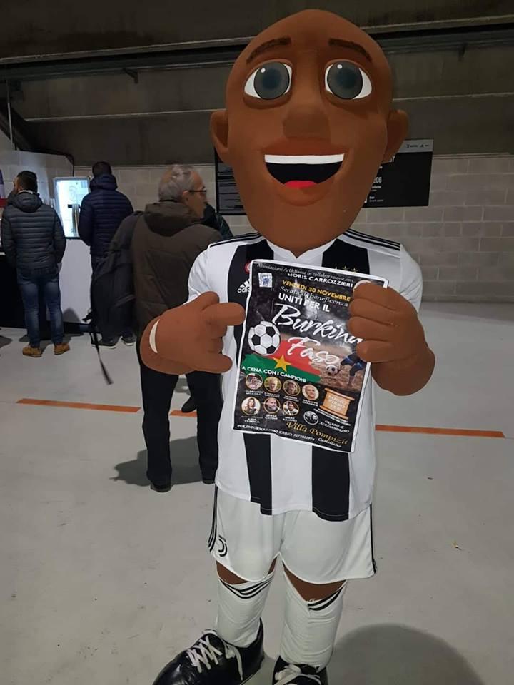 Basciano, cena di solidarietà con i campioni della Juventus
