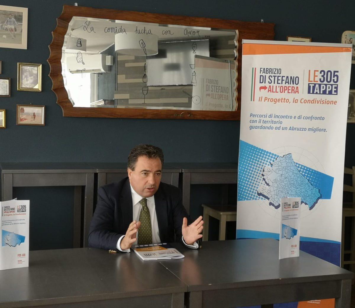 Elezioni regionali, Fabrizio Di Stefano presenta le prossime iniziative