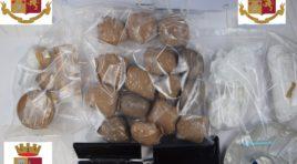 L'Aquila, arrestato noto commerciante per detenzione di droga