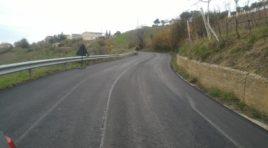 Nuovo asfalto per la strada provinciale Ancarano- Controguerra
