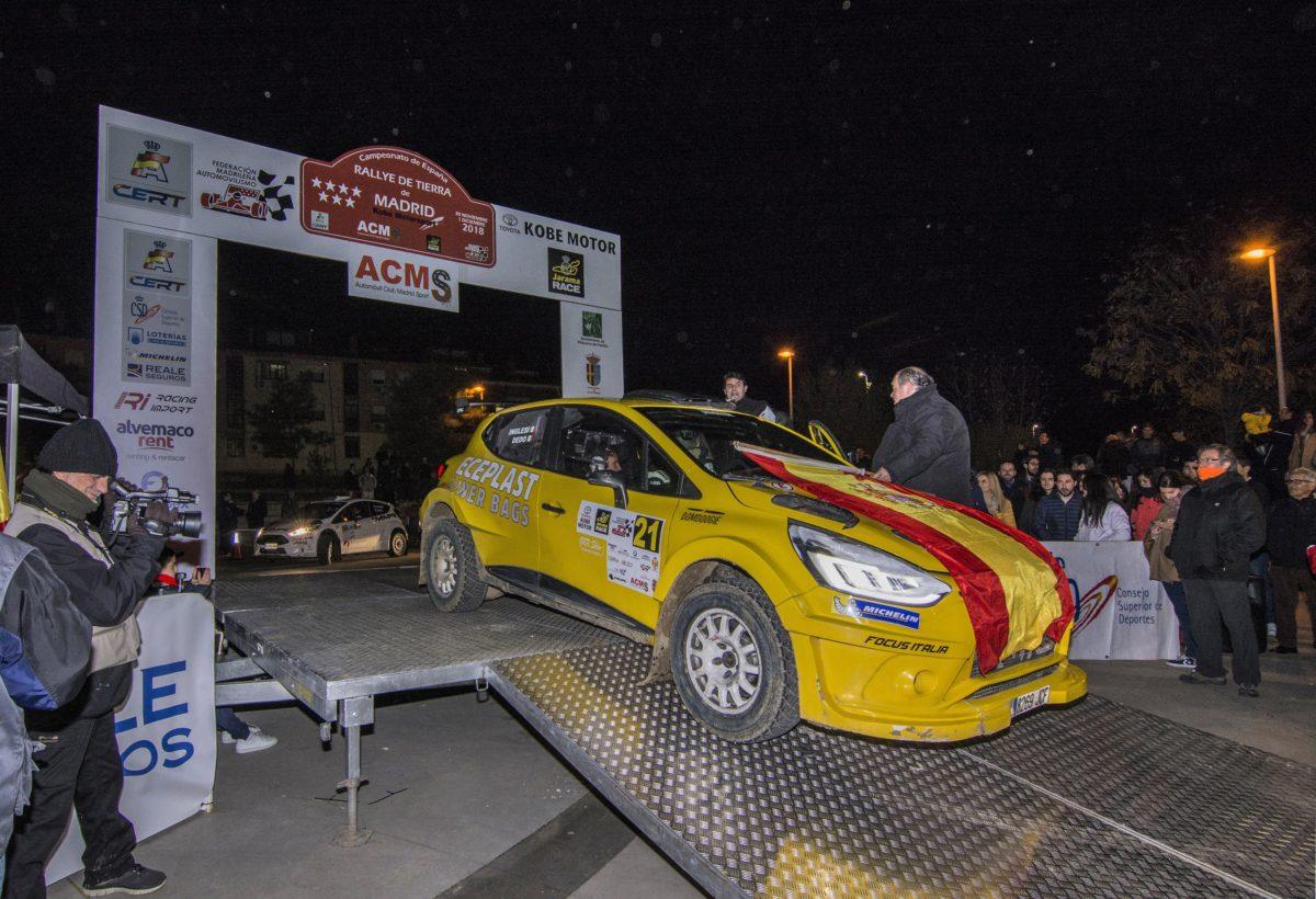 """Rally Madrid, ottimi risultati per il pilota """"Dedo"""" De Dominicis"""