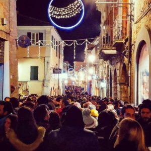 In migliaia ad Atri per La Notte dei Faugni