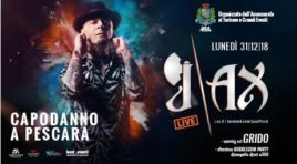 Capodanno Pescara, concerto di JAx in piazza Salotto
