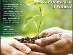 locandina convegno Quale agricoltura per il domani