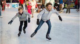 Martinsicuro, inaugurazione pista di pattinaggio sul ghiaccio