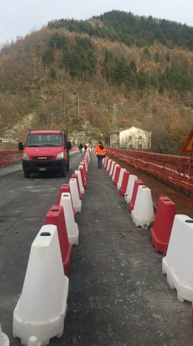 Riapre il ponte di Apratinel comune di Crognaleto