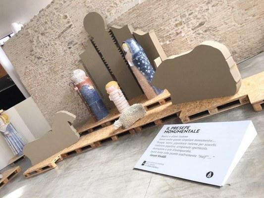 Castelli, inaugurata la mostra sul presepe monumentale