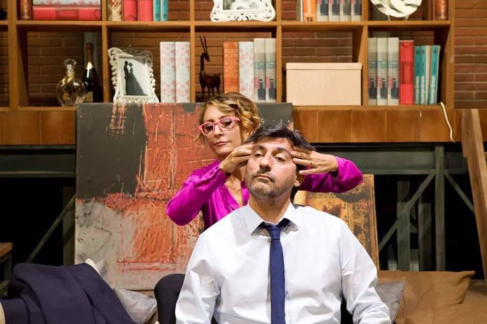"""Ad Atri Emilio Solfrizzi e Paola Minaccioni con """"A testa in giù"""""""
