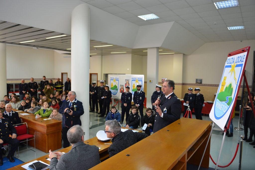 Festa della Polizia locale a Pineto, consegnate 4 benemerenze
