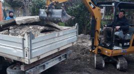 Abusivismo edilizio, demolito magazzino su via Di Vittorio