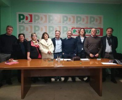 regionali abruzzo candidati pd