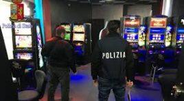 Vasto, Polizia chiude una sala giochi: non era in regola