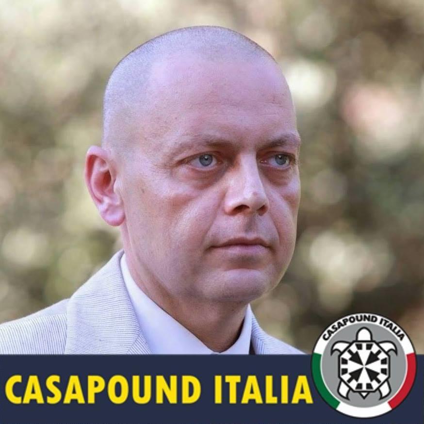 """Immigrazione, Flajani (CasaPound) """"Tema sottaciuto dagli altri candidati. Salvini sgombera gli immigrati a Roma per scaricarli in Abruzzo"""""""